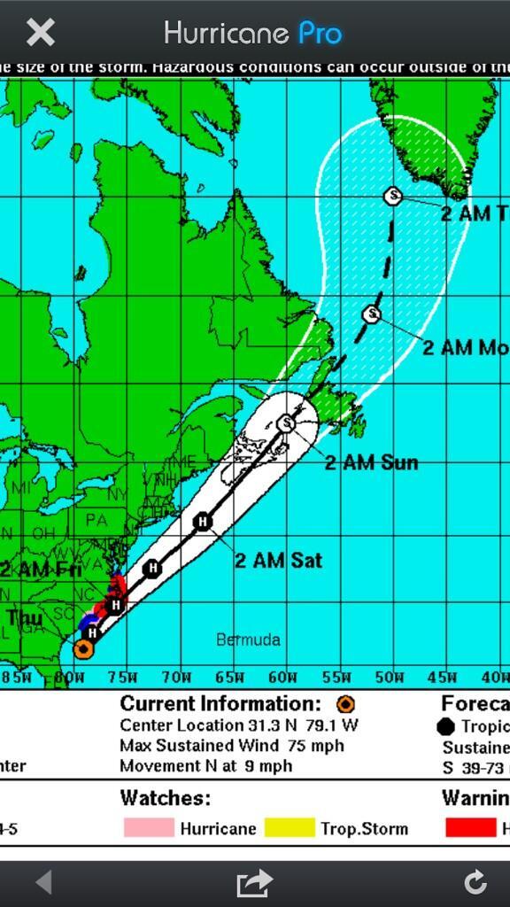 Tropical Storm Arthur Threatens Coast as Officials Eye Evacuations