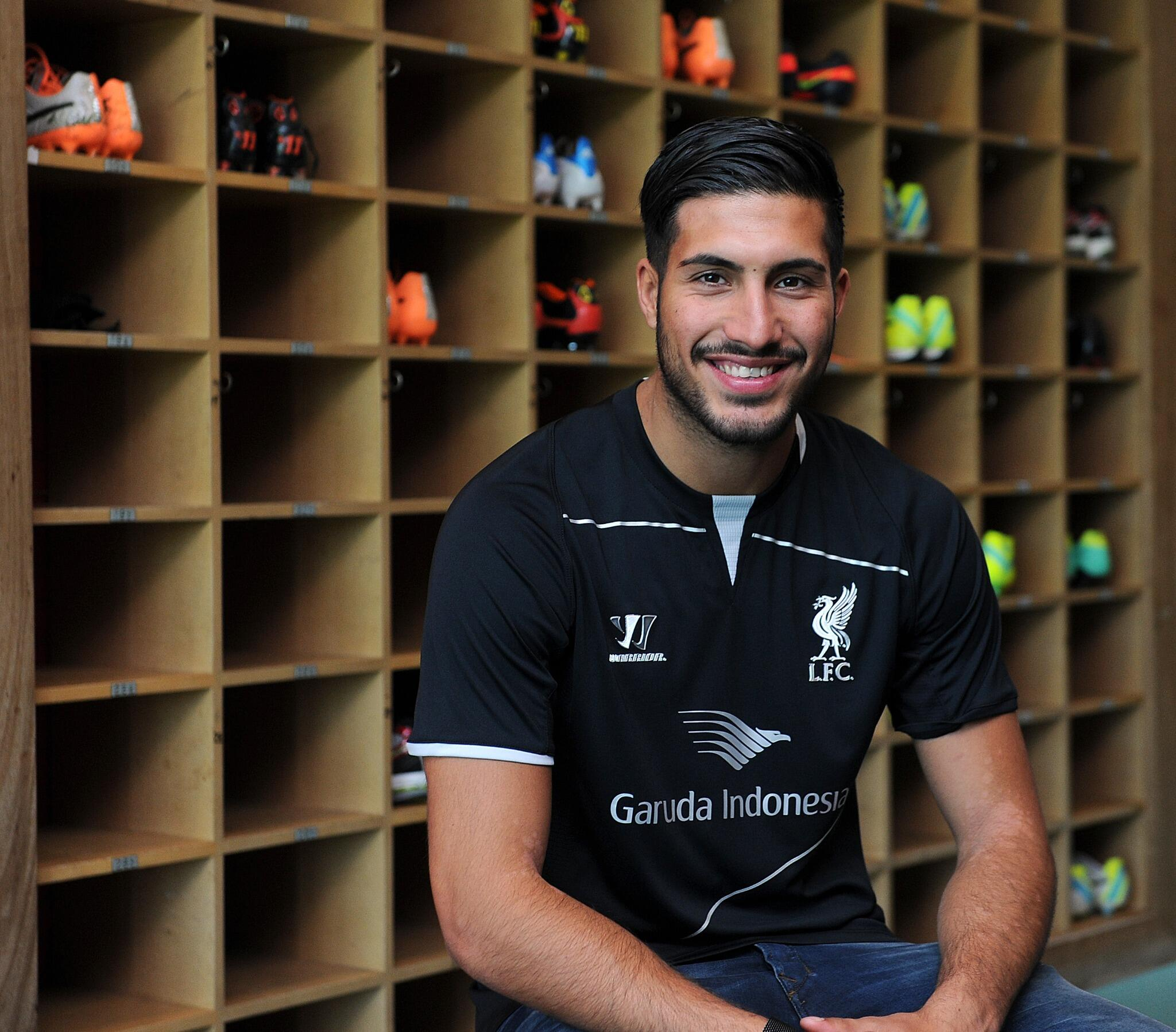 DONE DEAL: Emre Can arrives at Liverpool after moving from Bayer Leverkusen [Pictures]