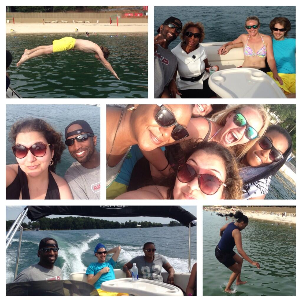 Twitter / Beyonceatl: Amazing day at the lake with ...