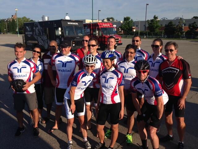 Twitter / RandstadCanada: Our Ride for Myriam team starting ...