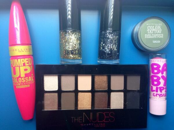 Giveaway Alert! RT and follow me for a chance to win @Maybelline goodies- winner by 7/6! http://t.co/gtEEqlGoOV
