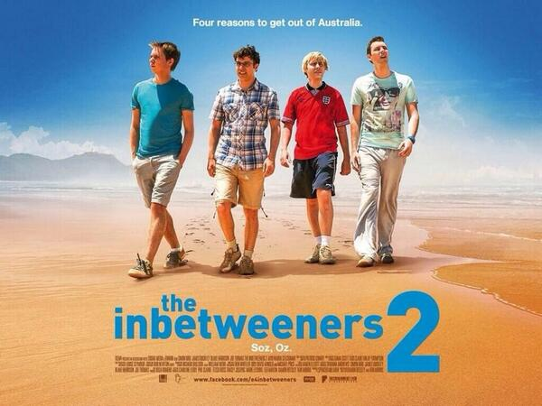 The new Inbetweeners2 poster has arrived! Soz Oz! http://t.co/YuSrgAb1GO