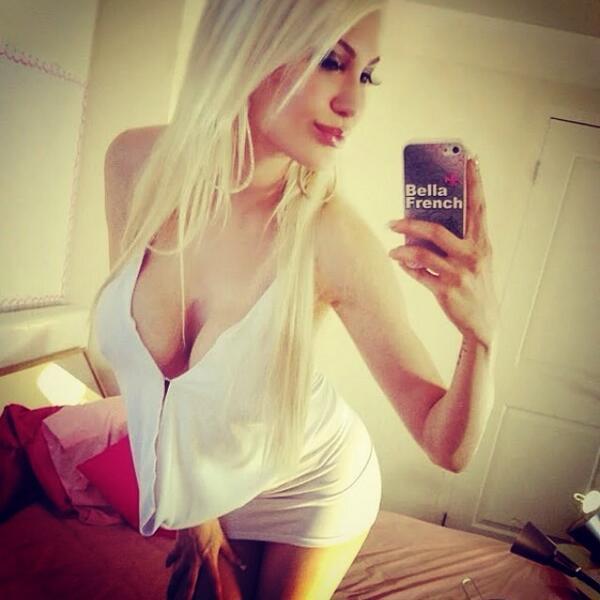 Bella French  - My loves ❤️ twitter @bellafrench69 camgirl,blonde