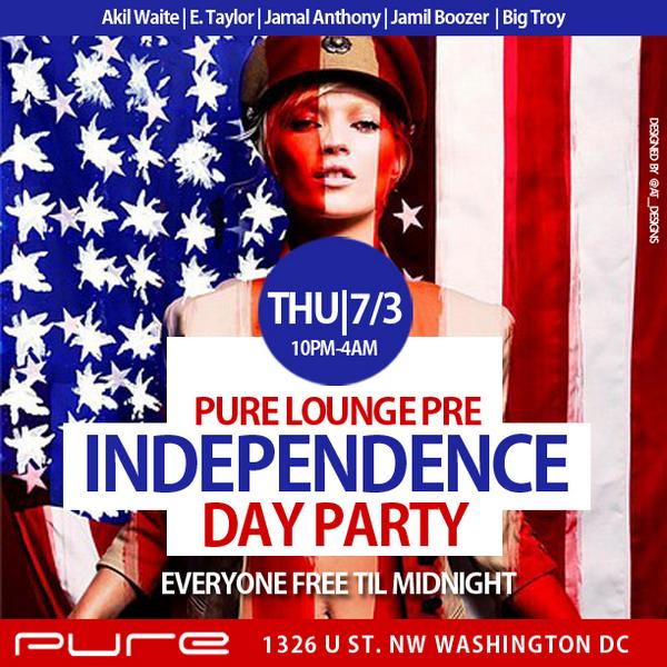 @Pureloungedc Is The Move Tonight! Powered By @TRIXSTON @BigTroyMiller @JAMILBOOZER @BigAkil @eVIPlist http://t.co/2QHUsqmNdG