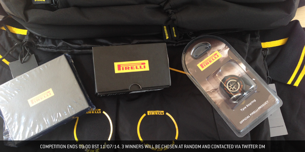 COMPETITION: RT & FOLLOW for a chance to win a prize bundle from @PirelliSport! #BritishGP #F1 http://t.co/YOFh26z3R8