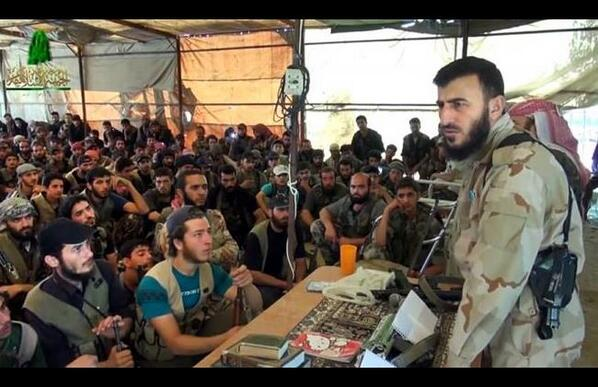 Thumbnail for Why this speech by a Syrian rebel leader caught our attention