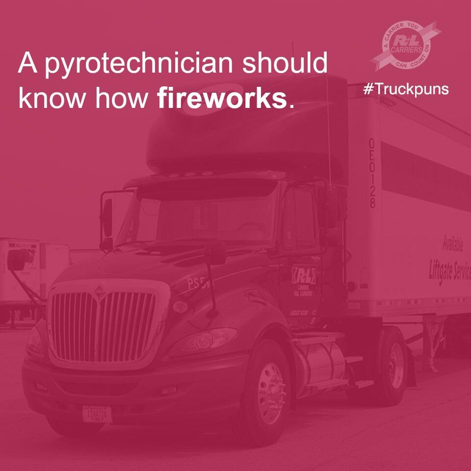 Twitter / RLCarriers: A special #July4 #Truckpun ...