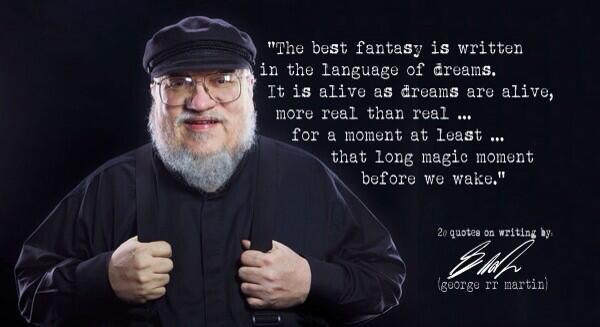 Twitter / GoT_Tyrion: George RR Martin is amazing ...