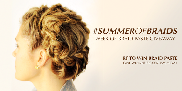 Another chance for you to have a #SummerofBraids. RT to WIN your own #BraidPaste! http://t.co/2kBf6Zcu5L