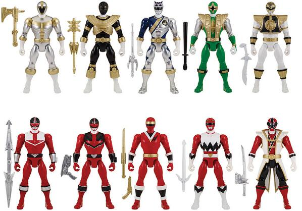 Power Rangers Super Megaforce Waves 5 and 6