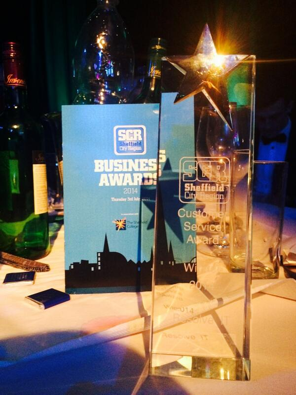 Well...we won! Best Customer Service at the #cityregionawards. A huge thank you to our team, friends and customers! http://t.co/6oiFfwRZ9y