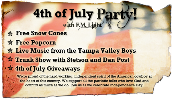 Twitter / fmlights: Don't miss our #4thofJuly party! ...
