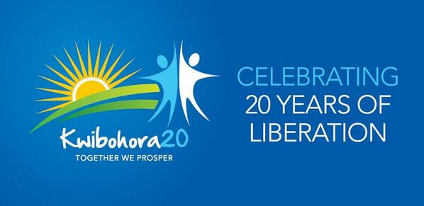 """The Ministry of Youth and ICT would like to wish you all a happy liberation day (#Kwibohora20). """"TOGETHER WE PROSPER"""" http://t.co/ft1KLnmStY"""