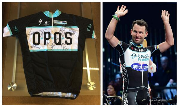 Our final prize is ace! Win this limited edition @opqscyclingteam jersey signed by @MarkCavendish & team. RT to enter http://t.co/7iOzbT1A9E