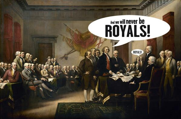 We will never be royals. #USA http://t.co/sDQmAp4ZkE
