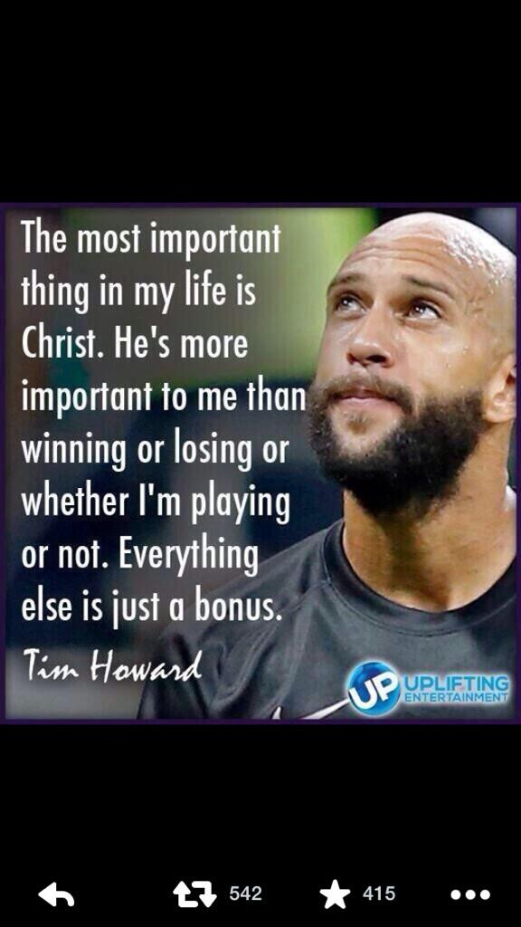 What goalie Tim Howard said about Jesus Christ. #goodexample #standup http://t.co/zs5OKU2XdQ