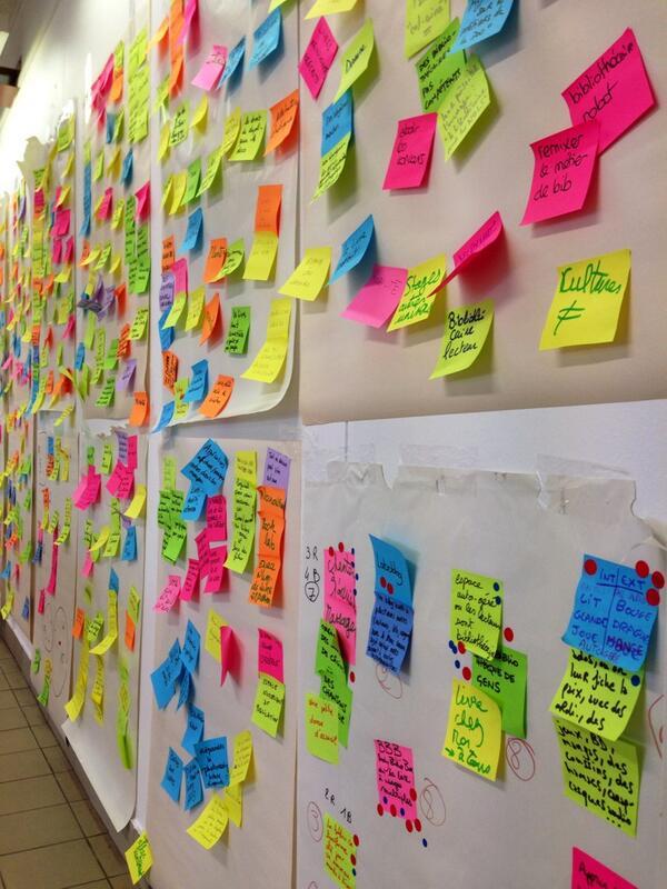 Post-its et idées à perte de vue :) http://t.co/2QxOEwvrFL