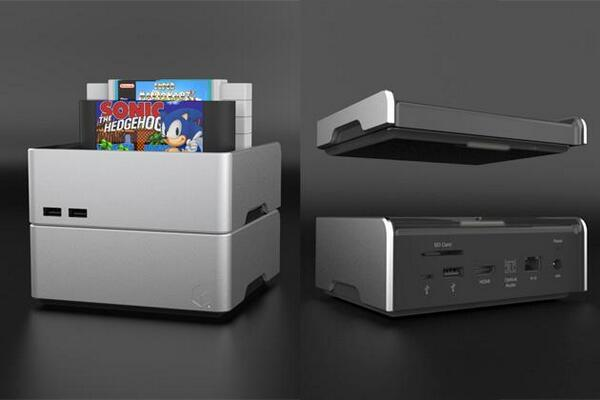 Meet Hong Kong's @EzeeCube, a stackable media hub that plays your old 16-bit game cartridges! http://t.co/k1vNIbmsP1 http://t.co/36GQxD3X4j