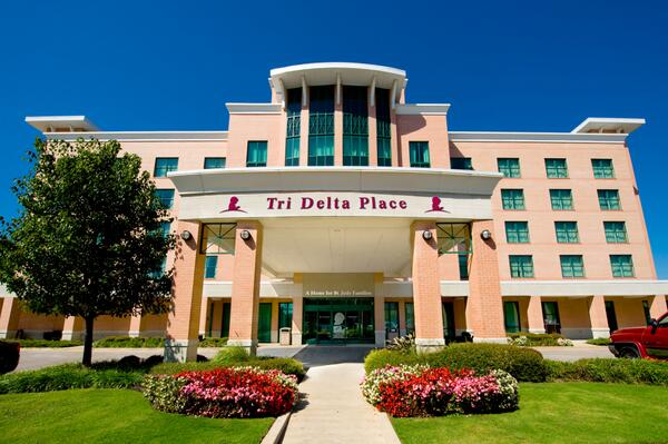 DDD has committed to raising $60 million over 10 years. ANNOUNCING: Tri Delta Place. #TriDelta4StJude #TriDeltaPlace http://t.co/3Ev7QdhT5H