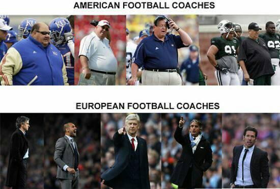 Football coaches vs Futbol coaches #WorldCup2014 http://t.co/nXqnx5KgUV