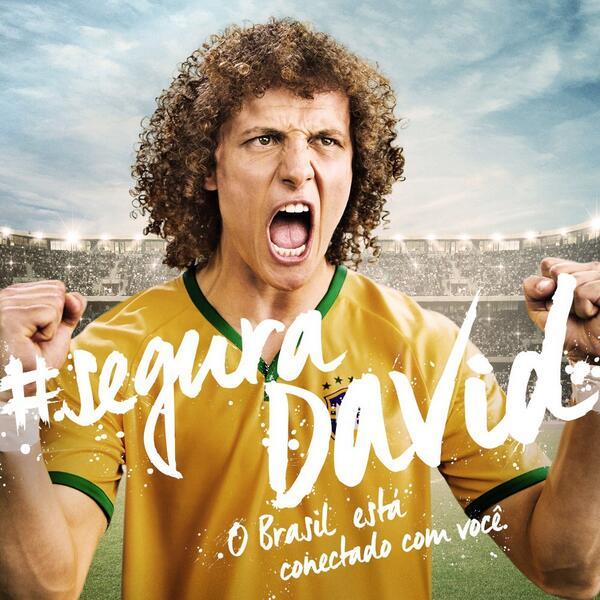 Galera, hoje tem mais um desafio! Quero ver o Brasil inteiro unido nessa batalha! #SeguraDavid http://t.co/IQrFjrLxlb