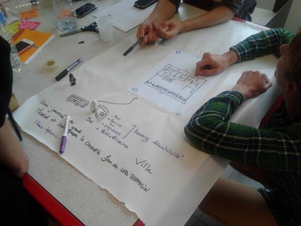 Work in progress : labyrinthèque http://t.co/AVdAv6ZS6F
