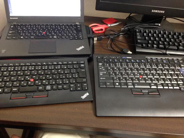 three track point keyboard http://t.co/1NhA9EEMrG