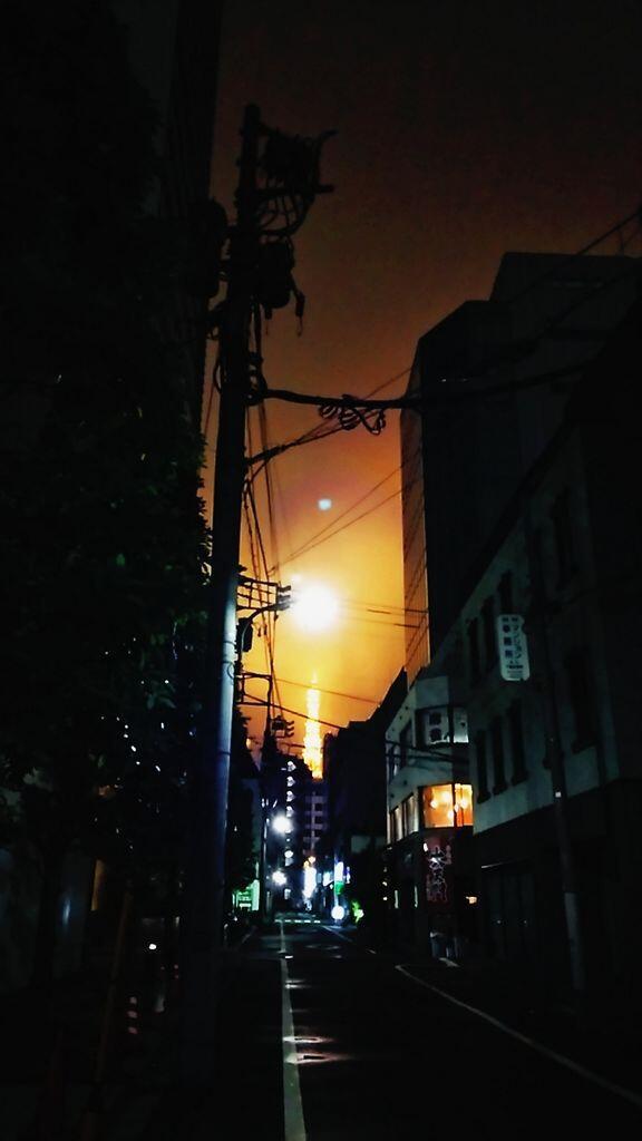 文化放送出たら、東京タワーの光すごかった。 pic.twitter.com/Frae1Ij9T8