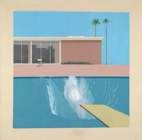 Dive into the weekend with Hockney, catch the sun while you still can http://t.co/3bM1dx1JMD #Tateweather http://t.co/S3pRsP3yVW