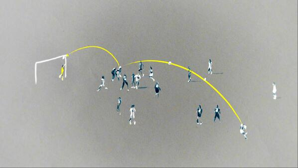 Illustration: Mats Hummels scores to put Germany 1 - 0 up against France http://t.co/KYLxPOzvtL
