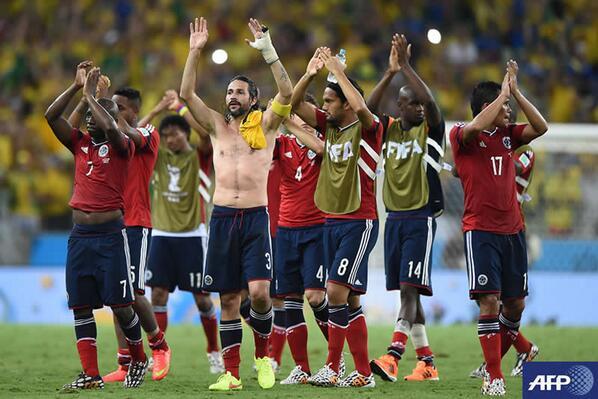 ¡Gracias Selección Colombia! Dejaste huella en Brasil. http://t.co/TnAjVWzi8Y #RCNYoCreo http://t.co/hCfSsr6Fdw
