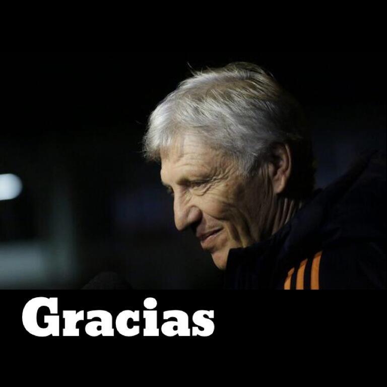 !!Gracias¡¡ Profe #JoséPékerman, por que después de 16 años volvimos a disfrutar un #Mundial, #ValióSoñar #Gracias http://t.co/126iY7E9ku