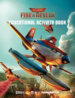 Disney Planes Fire and Safety Educational Activity Guide