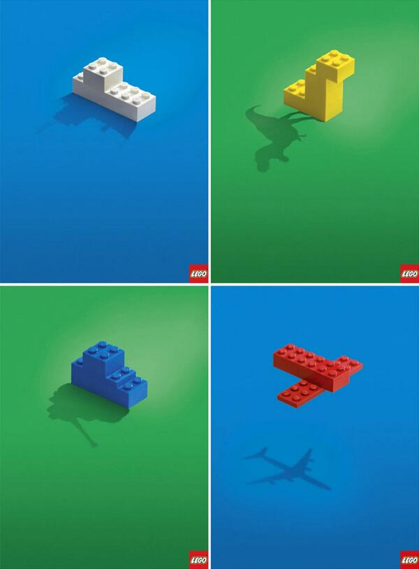 awesome advertising for lego. simple and emotive. http://t.co/anRUmHIh8W