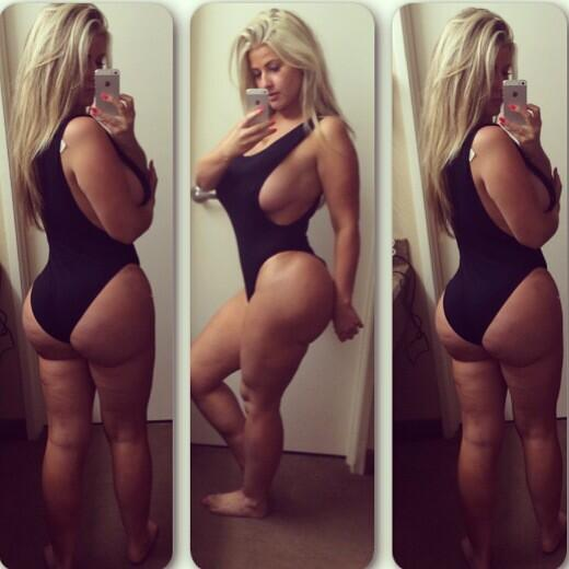Chubby blondes with big butts