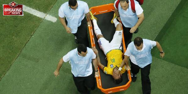 BrvPRLwCQAAfEIl HUGE Brazil Blow: Neymar is ruled out of the rest of the World Cup with fractured vertebrae
