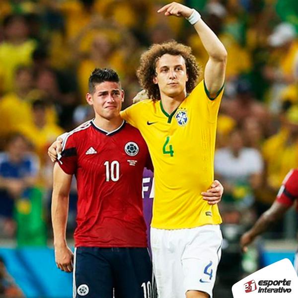 'Se todos os jogadores fossem como @DavidLuiz_4, teríamos um futebol muito mais limpo' - @jamesdrodriguez #Copa2014 http://t.co/8ze9RxBzj5