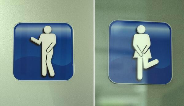バンコクのトイレマークがキテる! http://t.co/kfRXgrQQ2X