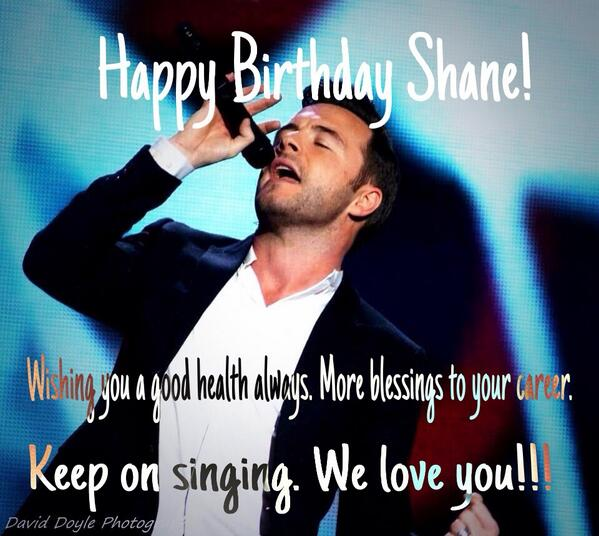To the Best Idol in the World @ShaneFilan