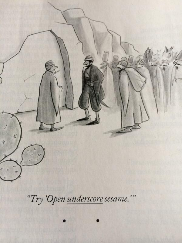 .RT @HamishMThompson: Cartoon of the year (from the New Yorker) http://t.co/6F7of30GiX