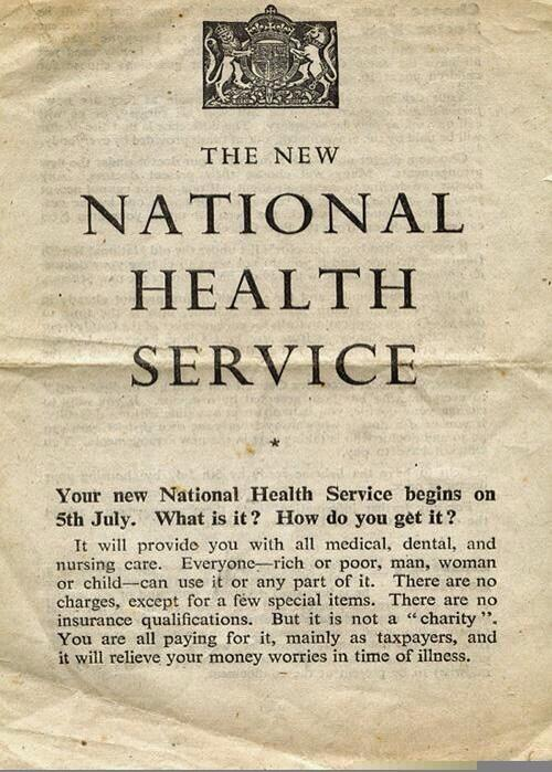 """Everyone - rich or poor, man, woman or child - can use any part of it."" #nhs66 http://t.co/CHdmY5cLwM"