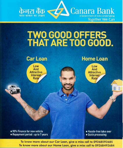 Canara Bank Car Loan