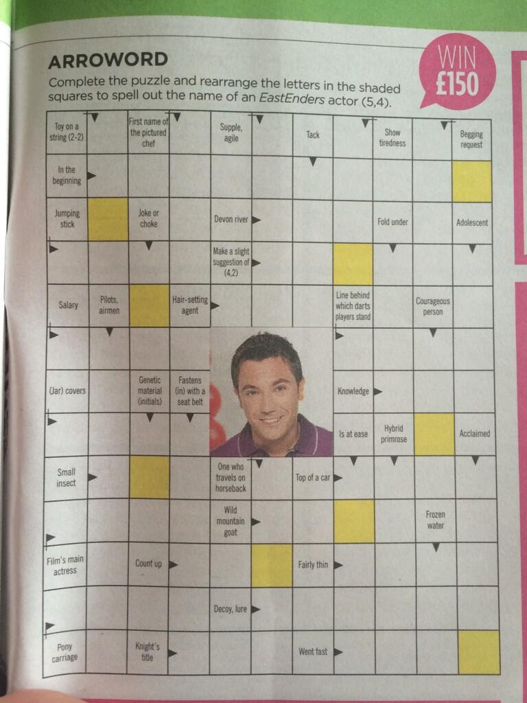 Look @Ginofantastico you're in the middle of a puzzle in't paper! http://t.co/ltvIQbqywI