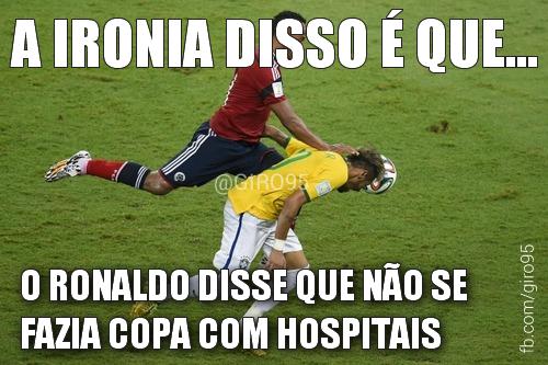 É amigo... agora o Ronaldo aprende! #hajacoração #bra #copa2014  #vamopracima #giro95 http://t.co/whrPmcj0Qj