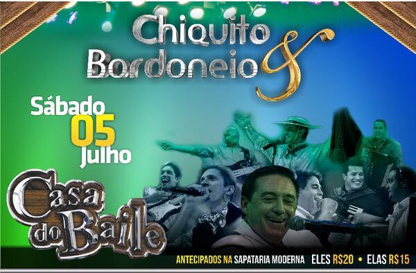 ERECHIM EM CD 2013 CHIQUITO E BAIXAR AO VIVO BORDONEIO
