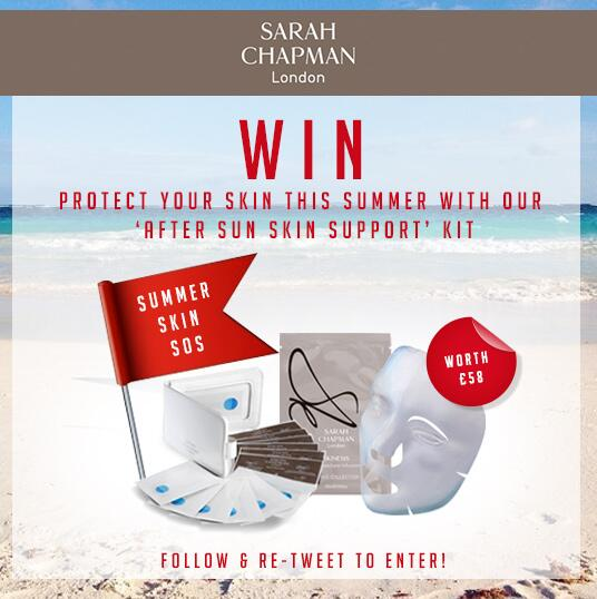 #COMPETITION! #WIN an SOS summer kit worth £58! Simply #RT and #FOLLOW to enter! Double entry:http://t.co/kdNalgISQV http://t.co/fwQ9P592G1