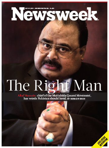Mr. Right for the Left: Our exclusive interview with MQM chief Altaf Hussain. By @benazir_shah http://t.co/19b9ZP5aLr