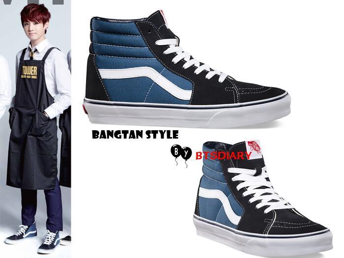 Boy In Vans Shoes