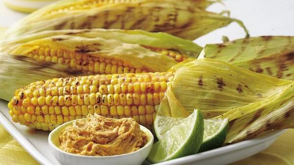 Grill more corn! Recipes, including Grilled Corn with Chile-Lime Spread, here: http://t.co/puw9cydOzB #eatmoreveggies http://t.co/CB4OSR8JFt