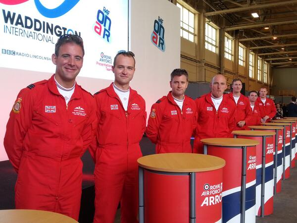 #wadd  #rafonair #redarrows  What a 50th Anniversary display and what a team! @rafredarrows http://t.co/3WrFkhJFxL
